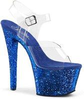 EU 39 = US 9 | SKY-308LG | 7 Heel, 2 3/4 PF Ankle Strap Sandal