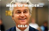 Pimp je pas / Pas sticker / Pinpas sticker /  Creditcard sticker / Pinpas versieren /  Bankpas sticker /  pas sticker / Kleine chip / Geert