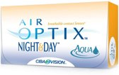 -4,00 Air Optix Night&Day Aqua - 6 pack - Maandlenzen - Contactlenzen
