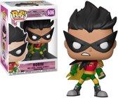 Funko Pop! Teen Titans Go! Robin - #606 Verzamelfiguur