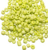 Rocailles (4 mm) Marble Lime (100 Gram)