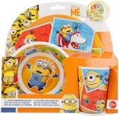 Minions Super Silly Fun Land melamine ontbijtset 3 delig