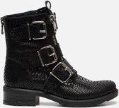 Ann Rocks Biker boots zwart - Maat 40