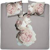 Damai Rosen Dekbedovertrek - 100% organic cotton - Taupe - Lits-jumeaux - 240x200/220