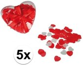Rode hartjes bad confetti 100 gram