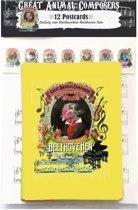 Ludwig  Beethoven Beethovehen Hen Animal Composer - Ansichtkaarten 12 stuks