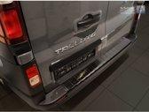 Avisa Zwart RVS Achterbumperprotector Opel Vivaro & Renault Trafic 2014- / Fiat Talento 2016- 'Ribs'
