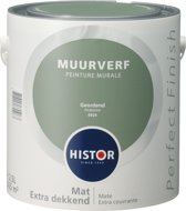 Histor Perfect Finish Muurverf Mat - 2,5 Liter - Geordend
