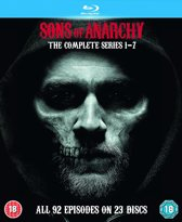 Sons Of Anarchy - Complete Seasons 1-7 [Blu-ray] [Region Free](import)