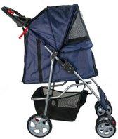 Pet Stroller Blauw