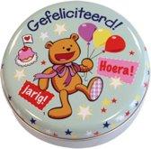 Lovely Tins - Gefeliciteerd Beertje