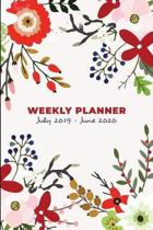 Weekly Planner & Organizer July 2019 - June 2020