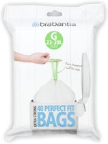 Brabantia Perfect Fit Afvalzakken - 23/30 l - Code G - 40 stuks