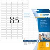 HERMA 10917 Wit Zelfklevend printerlabel printeretiket