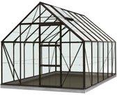 ACD serre 'Intro Grow Oliver' gehard glas & aluminium zwart 9,9 m²