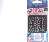 Kiss Broadway nails  Fashion Diva 3D art 2 nails Art Sheels  Hottest Designs + Nail Art top coat