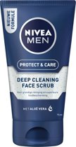 NIVEA MEN Protect & Care Face Scrub - 75 ml - Reinigingsscrub