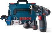 Bosch professional accuboormachine GSR 12V-15 - incl. 25-delige bitset, in totaal 2 accu's en 1 snellader