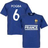Frankrijk Pogba Team T-Shirt - L
