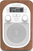 Pure Evoke H2 Draagbaar Digitaal Walnoot radio