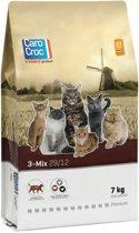 Carocroc Kat 3-Mix - Kattenvoer - 7 kg