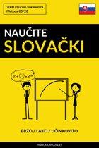 Naučite Slovački - Brzo / Lako / Učinkovito