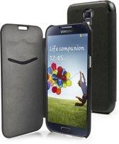 Muvit - iFlip Folio case - Samsung Galaxy S4 - zwart