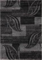 Modern Artwork Loof Vloerkleed -160X230cm - Antraciet/Grijs