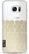 Casetastic Softcover Samsung Galaxy S7 Edge - Golden Hexagons