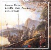 Tibaldi: Trio Sonatas / Parnassi musici