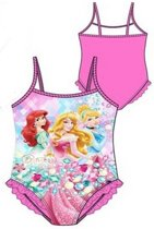 Badpak Disney Princess - licht roze - maat 98