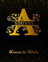 Adriana Learn to Write