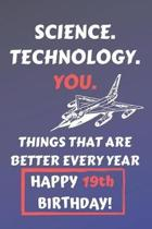 Science Technology You Things That Age Well Happy 19th Birthday