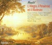 Handel: L'Allegro, il Penseroso ed il Moderato / Robert King et al