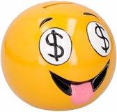 Emoticon dollar ogen spaarpot