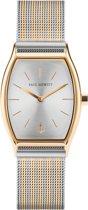 Paul Hewitt Modern Edge Line PH-T-G-SS-44S - Horloge - Goud/Zilverkleurig - Staal - 25x30mm