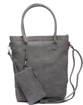 Zebra Trends Natural Bag shopper dark grey