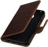 Samsung Galaxy A3 2016 A310F Mocca | Premium PU Leder bookstyle / book case/ wallet case  | WN™