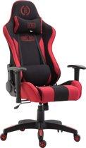 Clp Boavista  - Racing Bureaustoel - Stof - Zwart/rood Zonder voetsteun