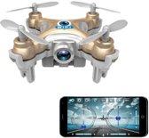 Cheerson CX-10WD RC FPV mini quadcopter drone RTF 0,3MP camera WiFi - kleur: grijs