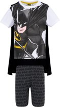 Batman Pyjama met korte mouw - wit - Maat 140
