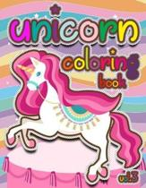 Unicorn Coloring Book Vol.3