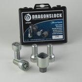 Dragonslock Velgenslot - Wielslot Set Audi A3 Van Elk Bouwjaar - Verzinkt - Beste Keus