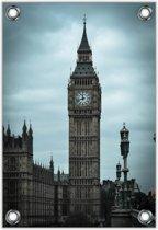 Tuinposter –Big Ban in Londen– 80x120cm Foto op Tuinposter (wanddecoratie voor buiten en binnen)