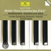Mozart: Piano Concertos 21 & 27 / Serkin, Abbado, London SO