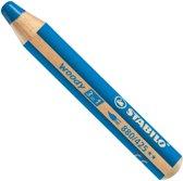 STABILO woody 3 in 1 kleurpotlood 1 stuk(s) Blauw