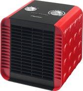 Bestron ACH1500R - Keramische Ventilatorkachel - Rood