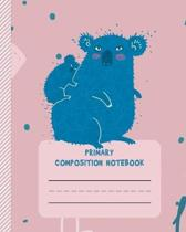 Primary Composition Notebook: Handwriting Practice Sheets for Preschool, Kindergarten, 1st and 2nd grade - Classic Primary Lined Ruled Paper to Prac