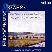 String Quartets By Brahms (Op. 67) & Herzogenberg