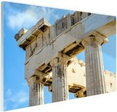 Detail Akropolis van Athene Glas 60x40 cm - Foto print op Glas (Plexiglas wanddecoratie)
